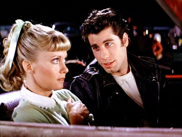 "John Travolta is the greaser Danny, and Olivia Newton John is the good girl Sandy in ""Grease,"" the 1978 musical film. A ""sing-along"" screening is planned at the Westport Library on Saturday, July 14, at 4 p.m."